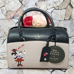 Minnie Mouse Duffel Medium Satchel Kate Spade New